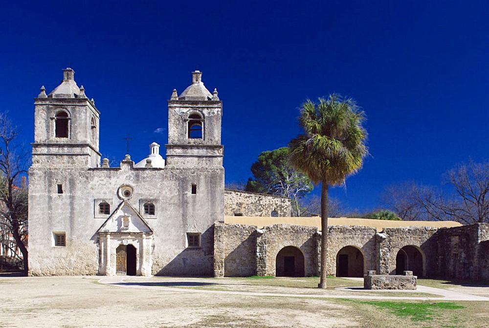 Mission Nuestra Senora de la Concepcion de Acuna, San Antonio, Texas, USA - 817-196712