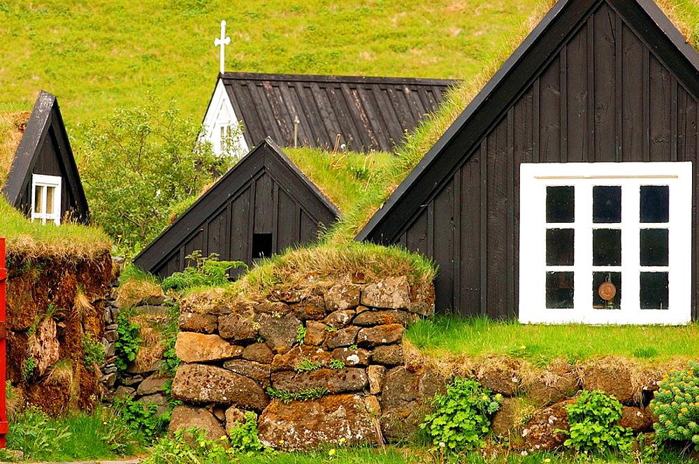 The museum keeps the heritage of the people of Ranga and Vestur Skaftafell regionsThodur Tomason is the creator of Skogar ecomuseum, Old traditional farms (fol museum), Skogar, Iceland