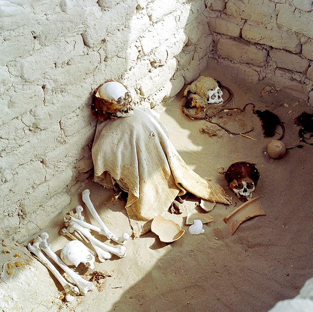 Chauchilla Cemetery, Nazca, Peru