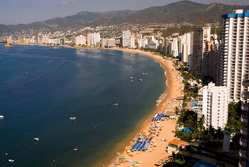 Acapulco Bay, Guerrero, Mexico
