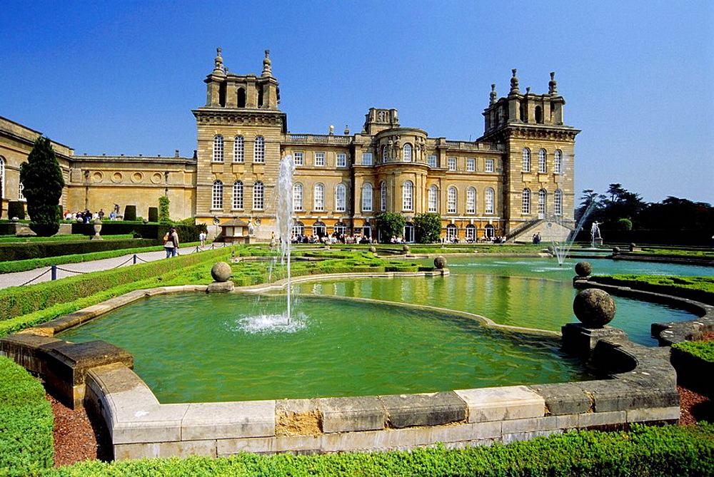 Blenheim Palace, Oxfordshire, England, UK