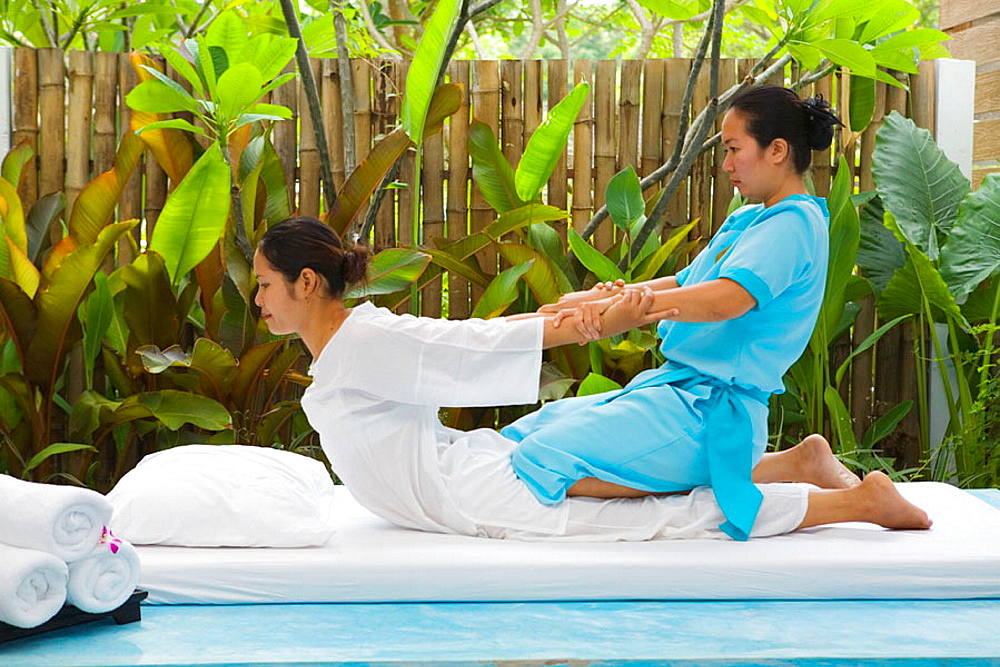 Traditional Thai Massage, Hua Hin, Thailand