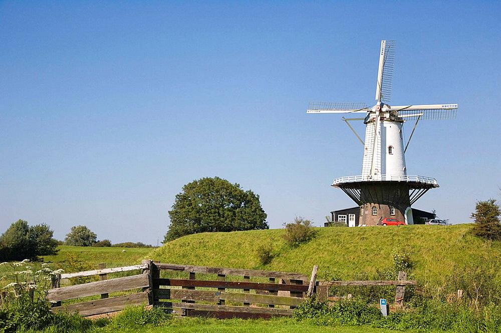 Mollen De Koe (cow flour mill), Veere, Zeeland, Netherlands