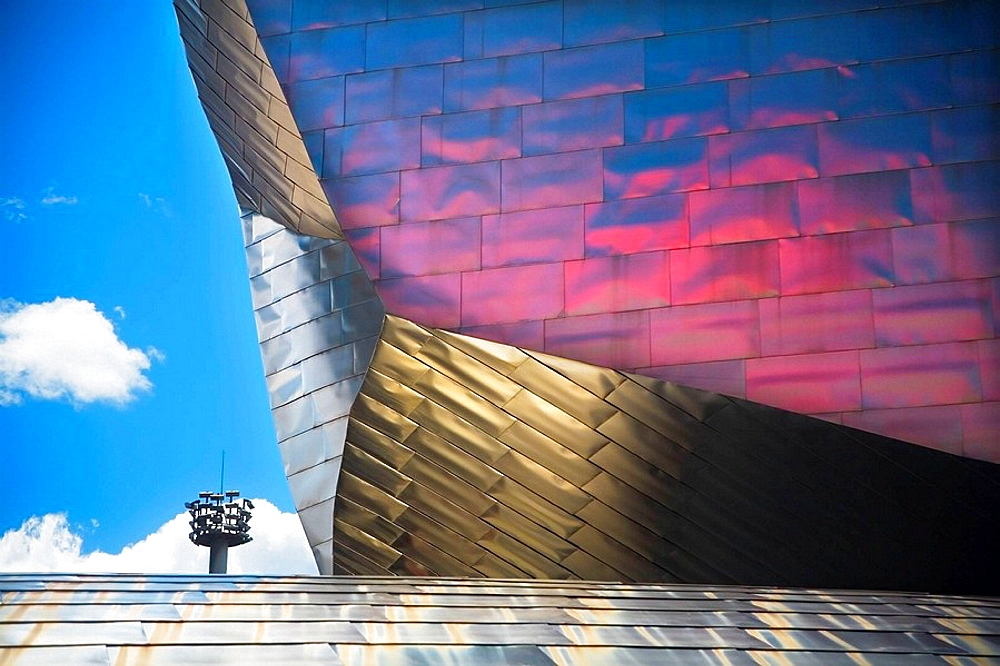 Guggenheim Museum of art  Front view detail  Bilbao  Biscay  Basque Country  Spain  Europe
