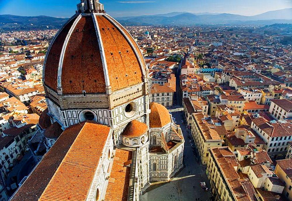 The Basilica di Santa Maria del Fiore (Duomo).Florence, Tuscany region, Italy
