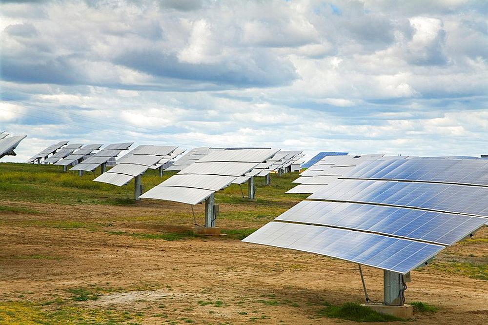 solar panels station