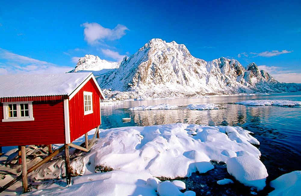 Svolvaer in Lofoten Islands, Norway