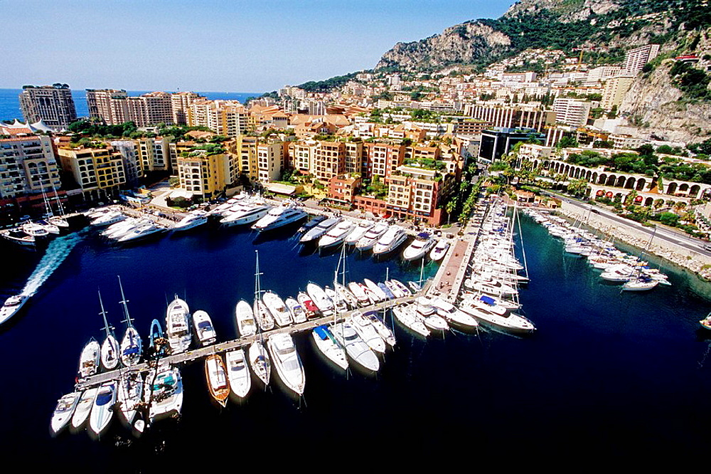 Monaco, Monte Carlo, Fontvieille, Principaute de Monaco, French Riviera, cote dazur, Europe - 817-222398