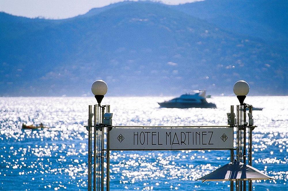 Cannes Croisette Alpes-Maritimes 06 PACA France French Riviera Cote dAzur Europe