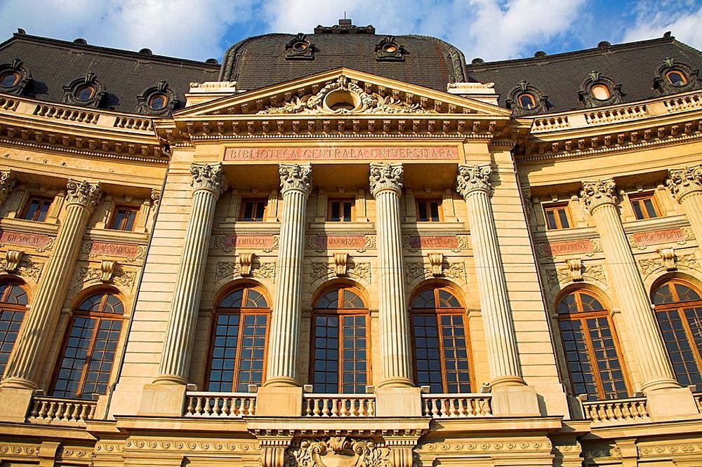 Central University Library, Biblioteca Centrala Universitara, Bucharest, Romania