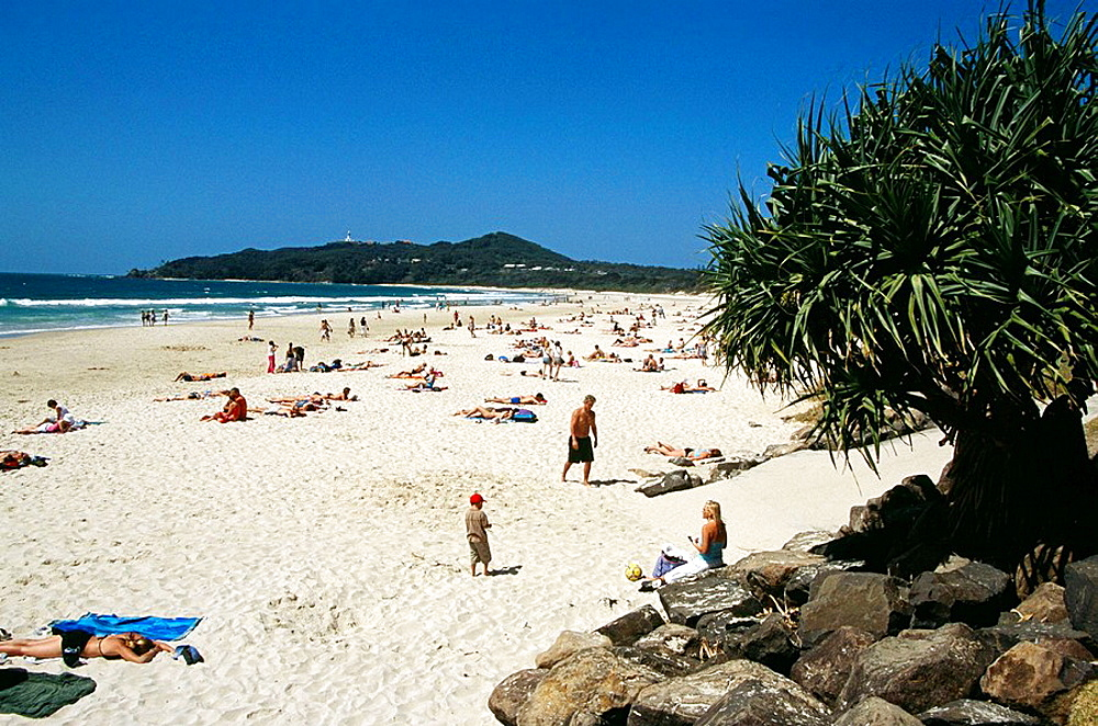 Beach at Byron Bay, Cape Byron, New South Wales, Australia