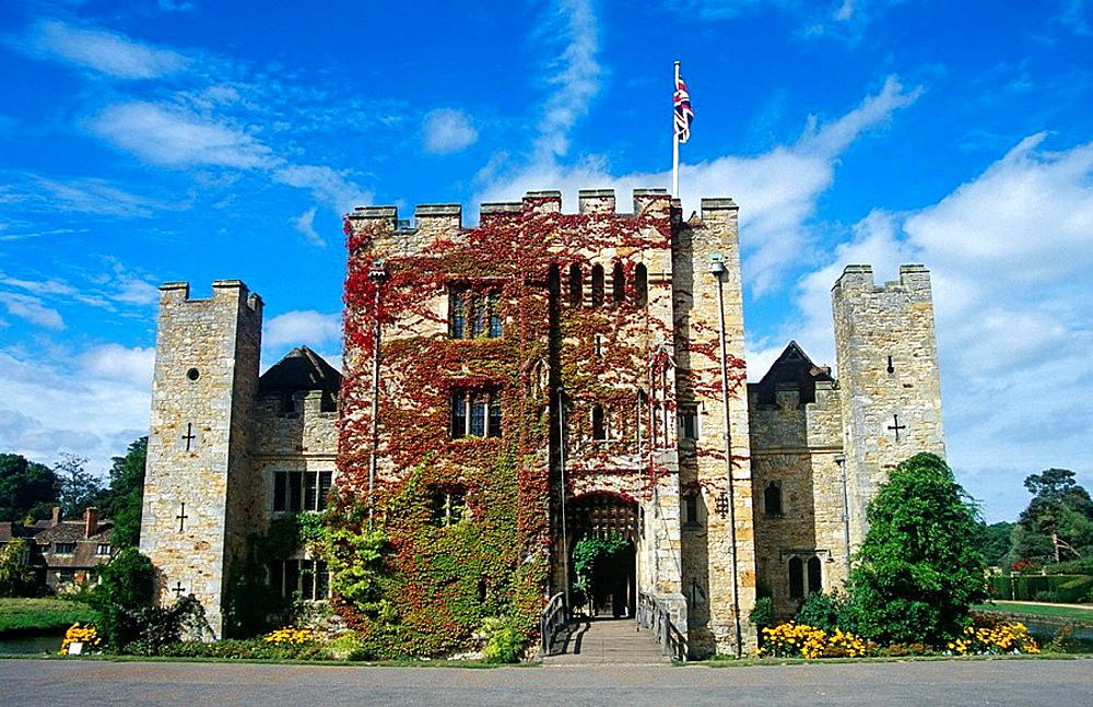 Hever Castle, near Edenbridge, Kent, England