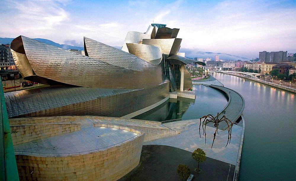 Guggenheim Museum, by Frank O, Gehry, Bilbao, Spain