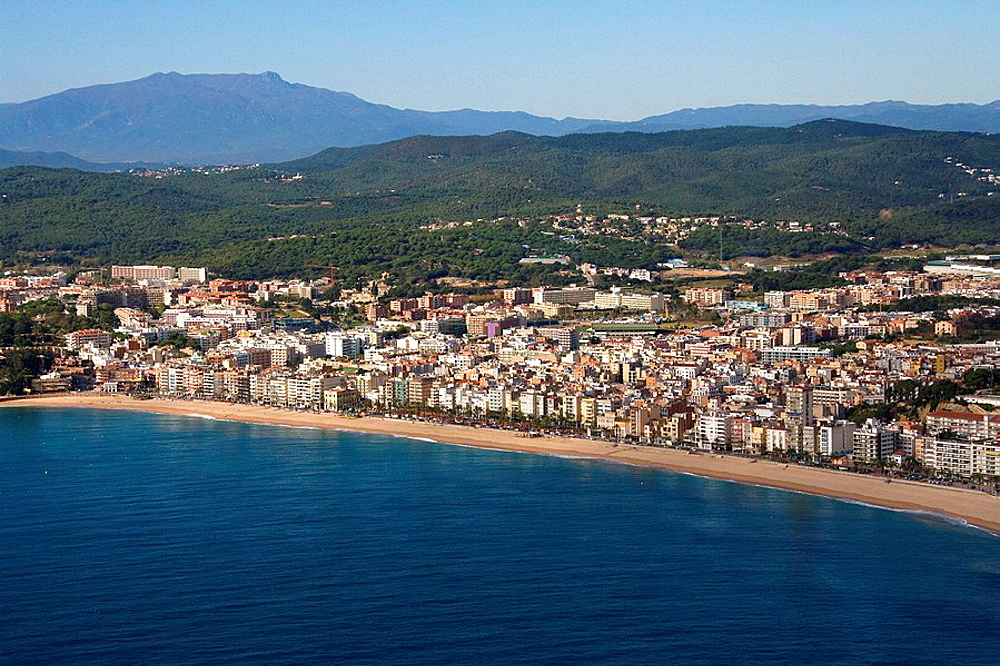 Spain, Catalonia, Girona, La Selva, Costa Brava, Lloret de Mar