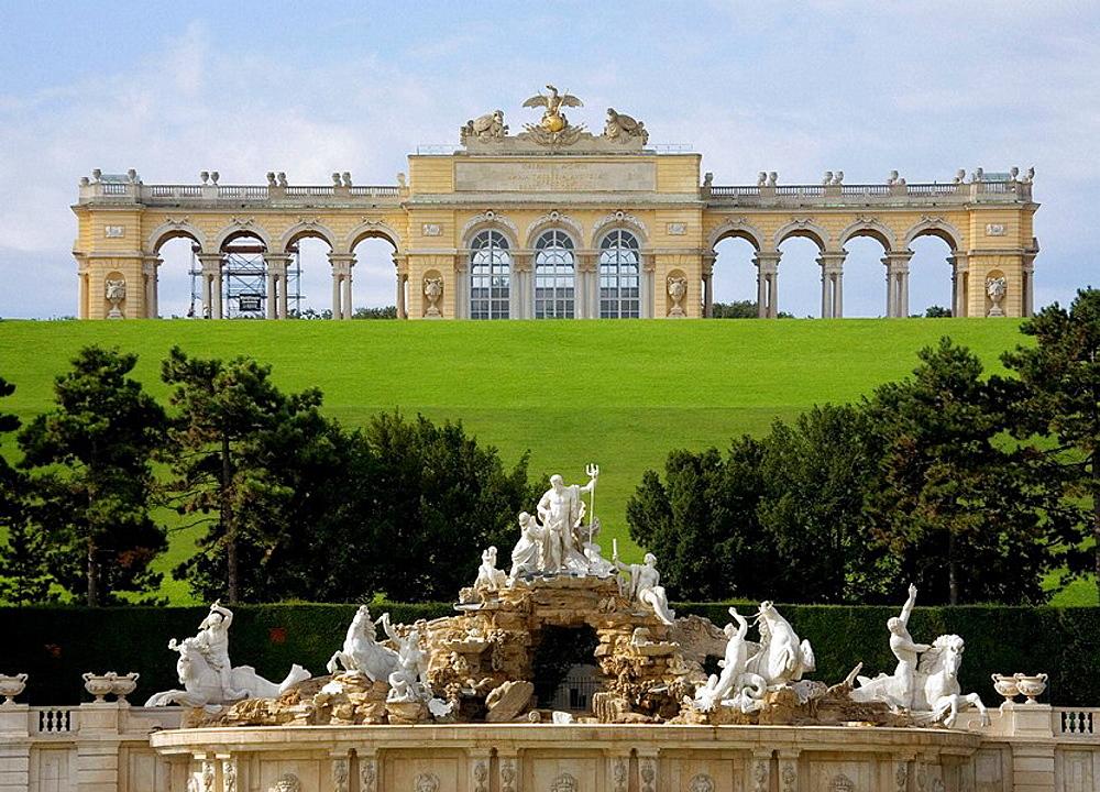 Austria, Vienna, Schonbrunn Castle
