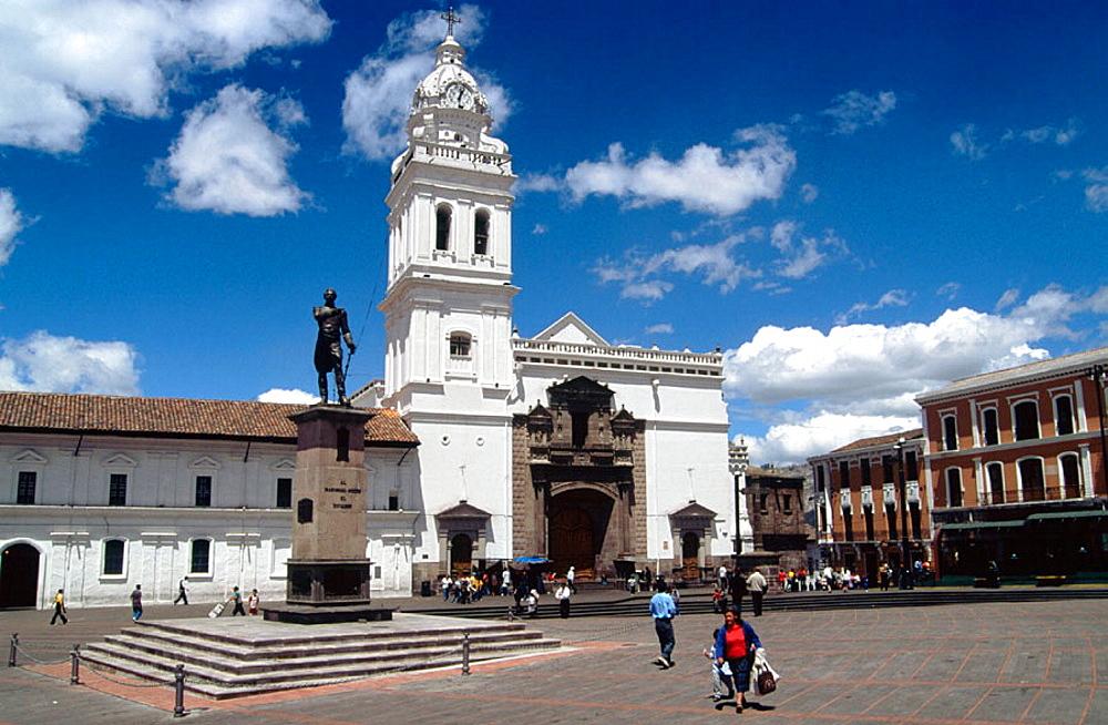 Santo Domingo Church and Square, Quito, Ecuador