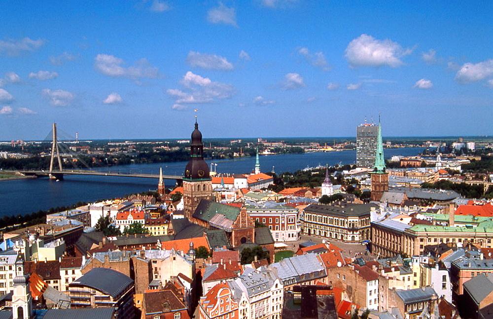 General view, Riga, Latvia