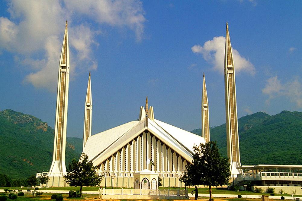 Shah Faisal Masjid mosque, Islamabad, Punjab, Pakistan