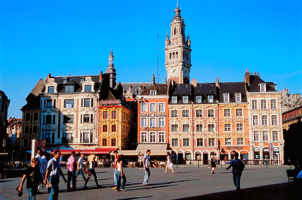 Grand Place, Lille, Nord-Pas de Calais, France