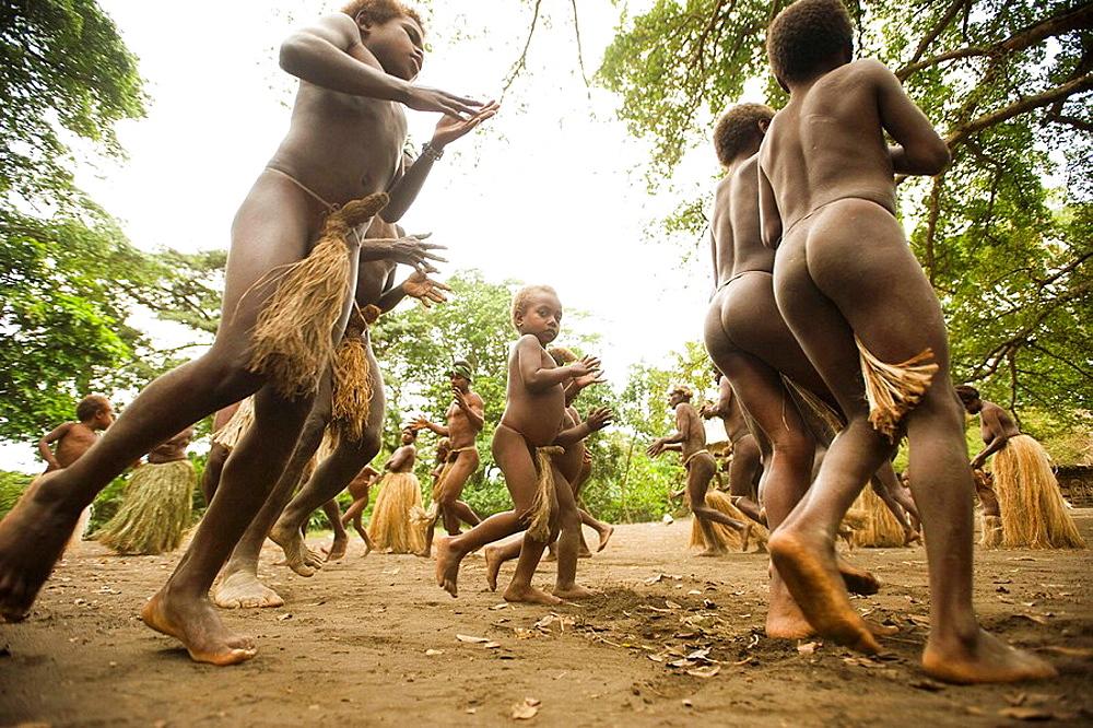 Ritual dance at Yakel village, Tanna, Vanuatu