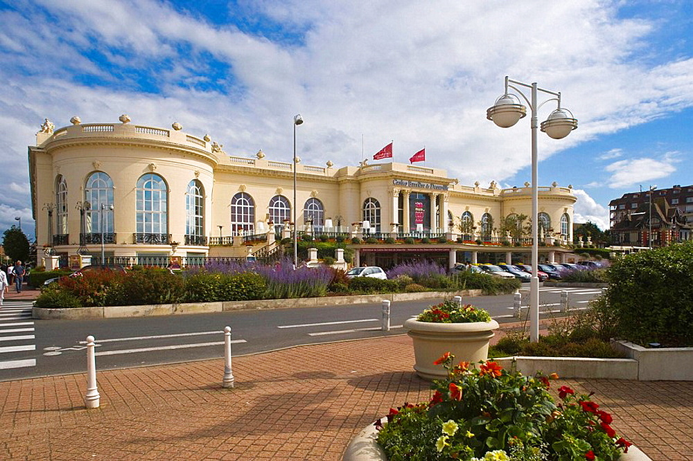 View of the Casino, Deauville, Calvados, Basse-Normandie, France