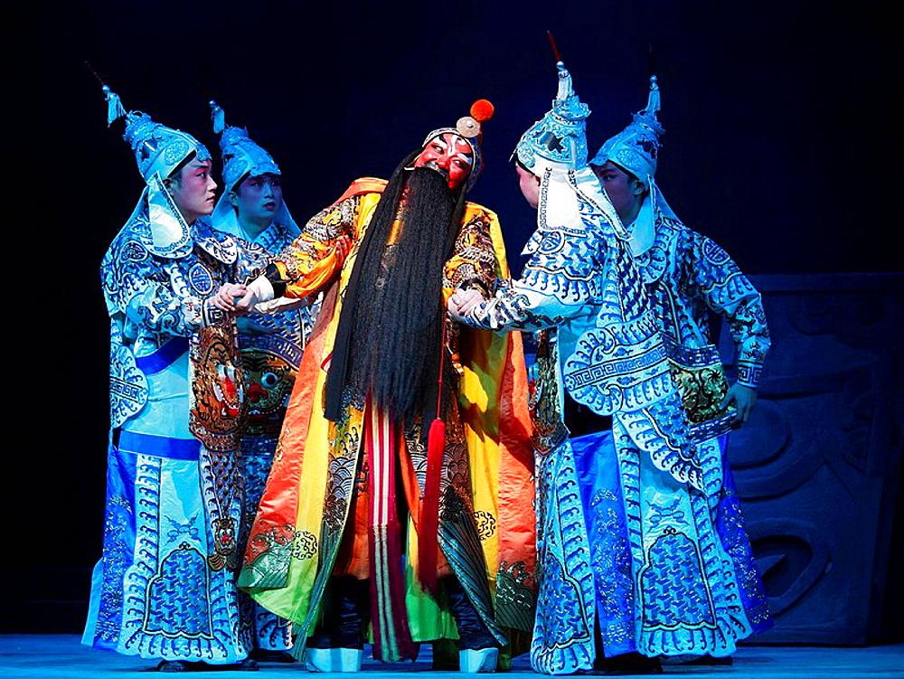China, Shanghai, Yifu Theatre, chinese kunqu opera performance - 817-239389