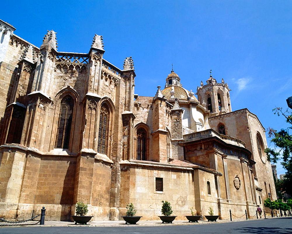 Cathedral of Santa Maria, Tarragona, Catalonia, Spain