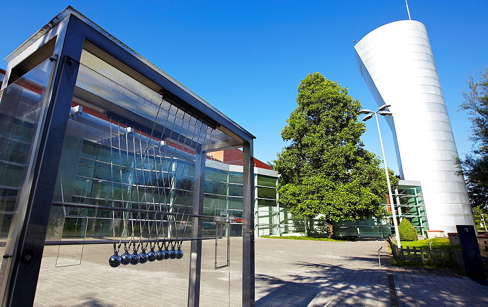 Kutxaespacio, Museo de la Ciencia, Donostia, San Sebastian, Gipuzkoa, Euskadi, Spain.