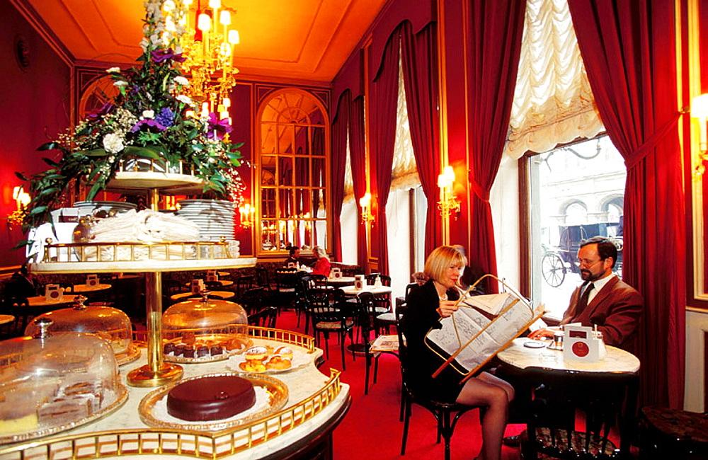 Sacher Cafe, Vienna, Austria - 817-24439