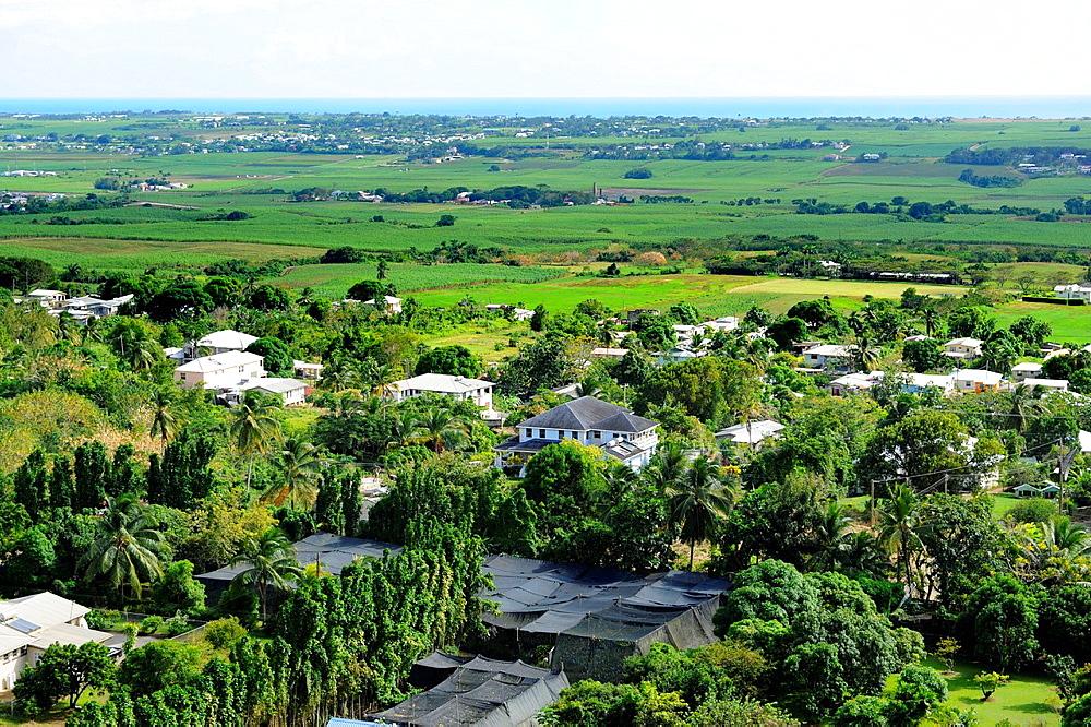 View from Gunhill Signal Station Bridgetown Barbados Caribbean Cruise NCL