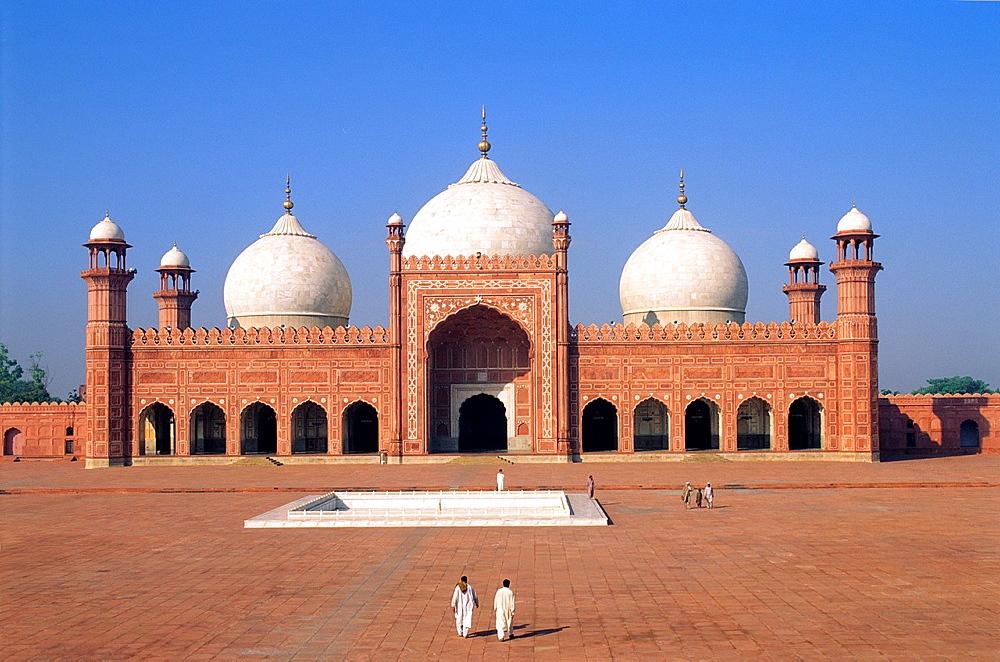 Pakistan, Punjab, Lahore, World Heritage Site, Badshahi mosque