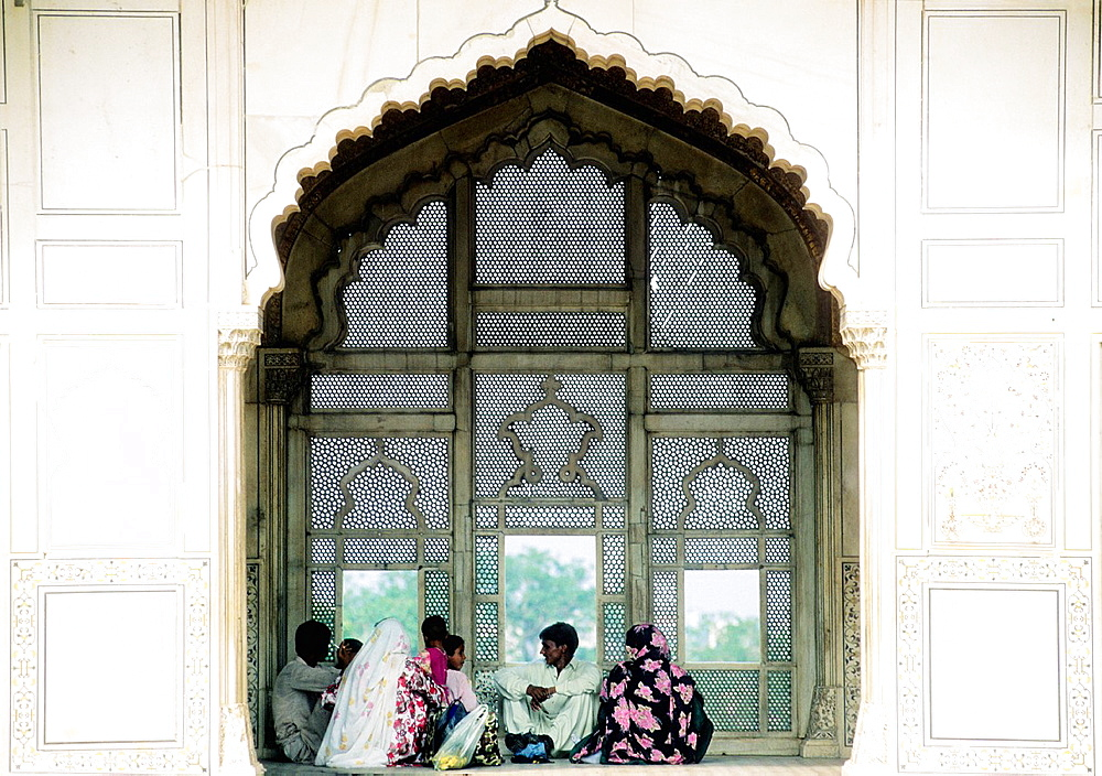 Pakistan, Punjab, Lahore, World Heritage Site, Lahore fort, Naulakha pavilion