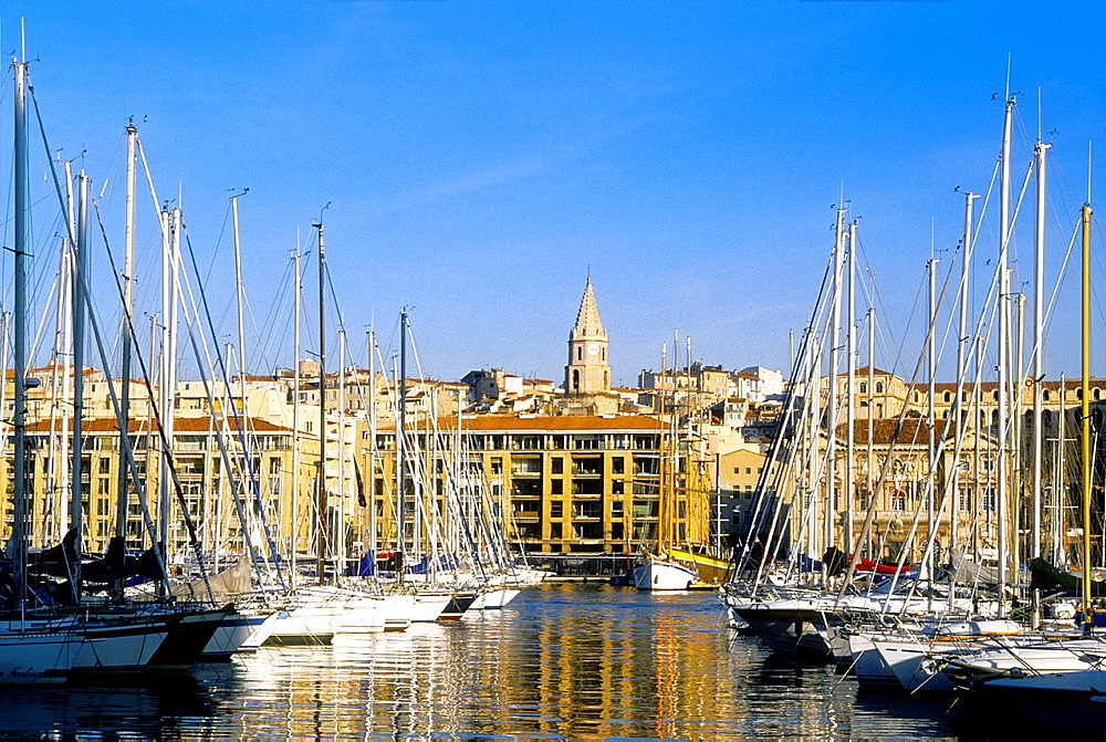 The old harbor of Marseille Bouches du Rhone 13 PACA France Europe