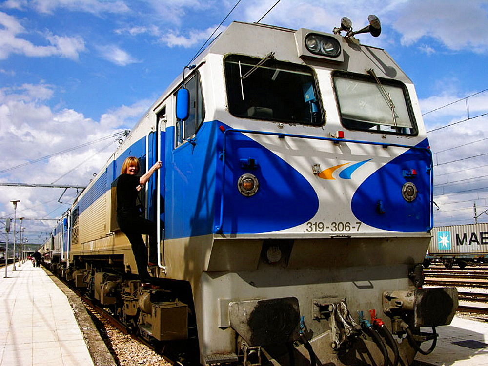 Al Andalus expreso' luxury train leaving each week from Sevilla for a 6 days and 5 nights tour, Andalucia, Spain