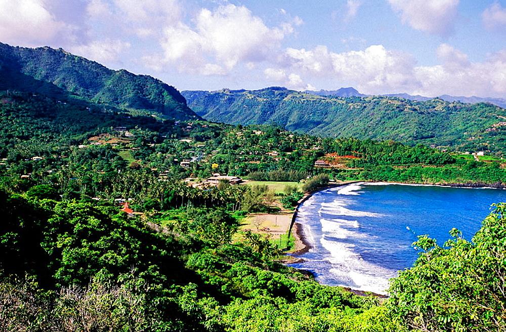 Hiva-Oa island, Marquesas archipelago, French Polynesia