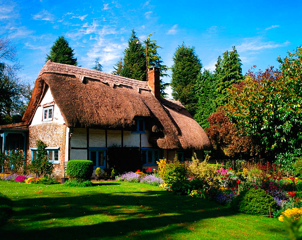 High Quality Stock Photos Of Quot Thatched Cottages Quot