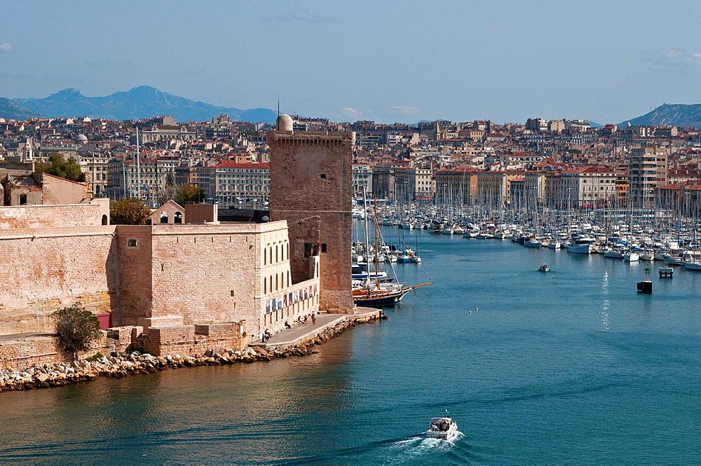 Vieux Port, Old Harbour, Marseille, France
