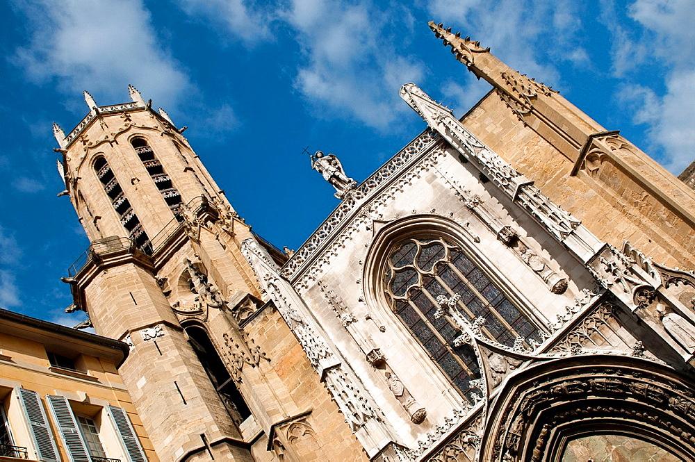 Cathedral St Sauveur, Aix En-Provence, France