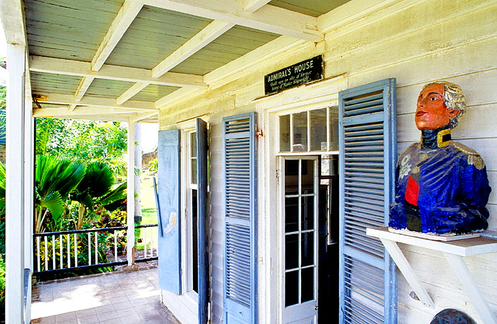 Admiral Nelson's house, Antigua island, Antigua and Barbuda, British West Indies, Caribbean