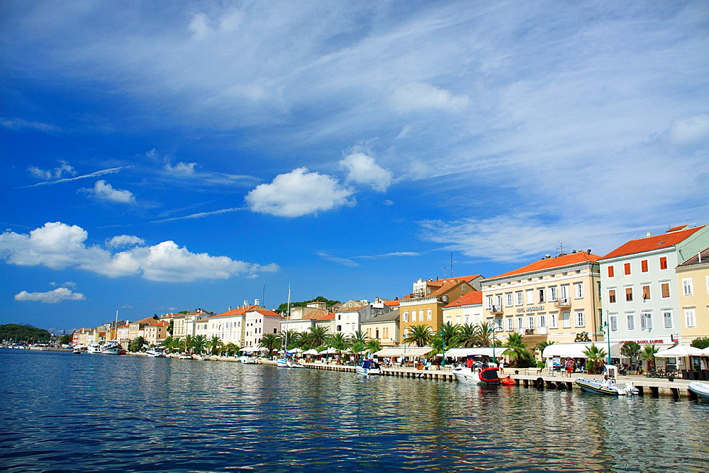 Mali Losinj on Cres Island, Croatia