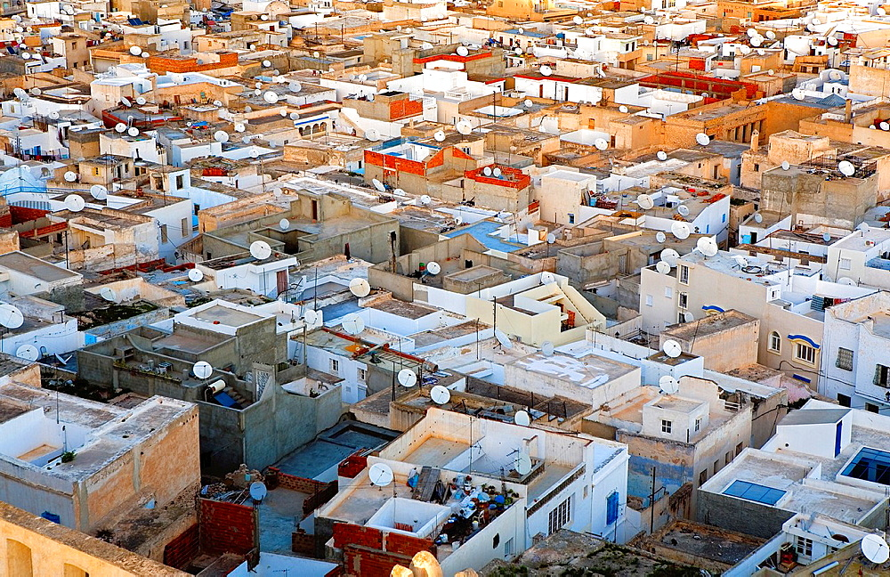 Tunez: Sousse Roofs of the medina