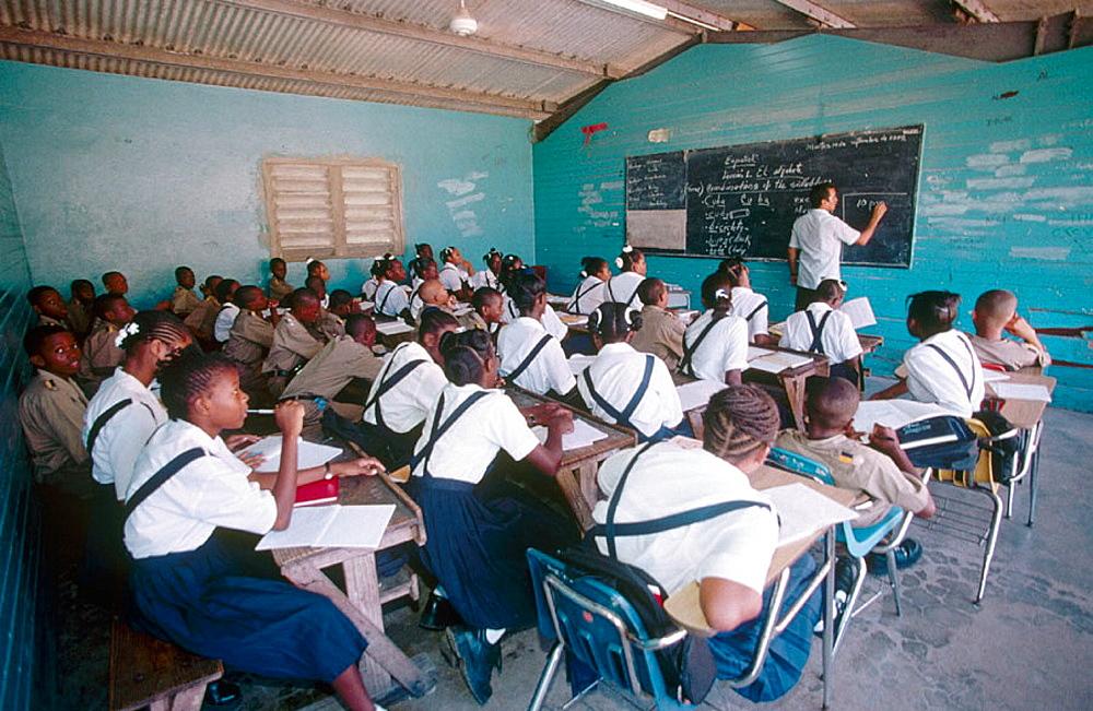 The Titchfield College, Port Antonio, Jamaica, Caribbean.