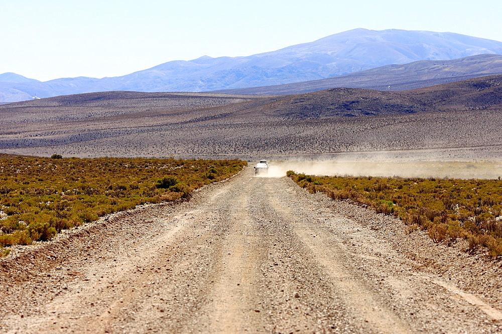 A road in the Andes, Salta district, in the vicinity of San Antonio de los Cobres, Argentina