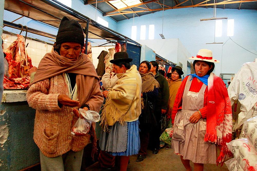 Market in Uyuni, Bolivia