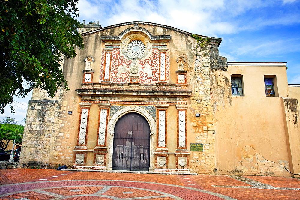 Santo Domingo convent, 1rst university of the new world, Santo Domingo, Dominican Republic, West Indies, Caribbean