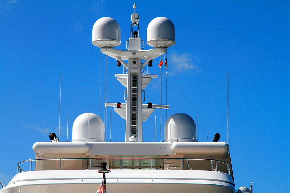 Yacht Smerald coast Porto Cervo Sardinia island Italy