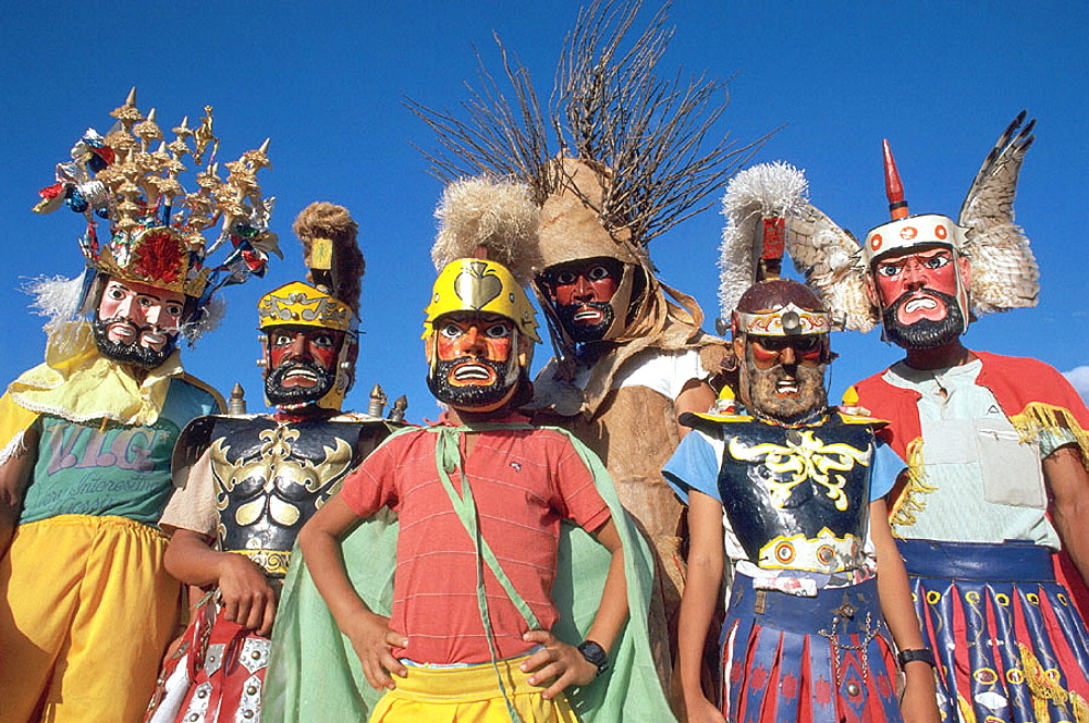 Holy week procession, Moriones (Helmet) Festival, Since 1807, Mogpog Town, Marinduque Island, Philippines - 817-2838