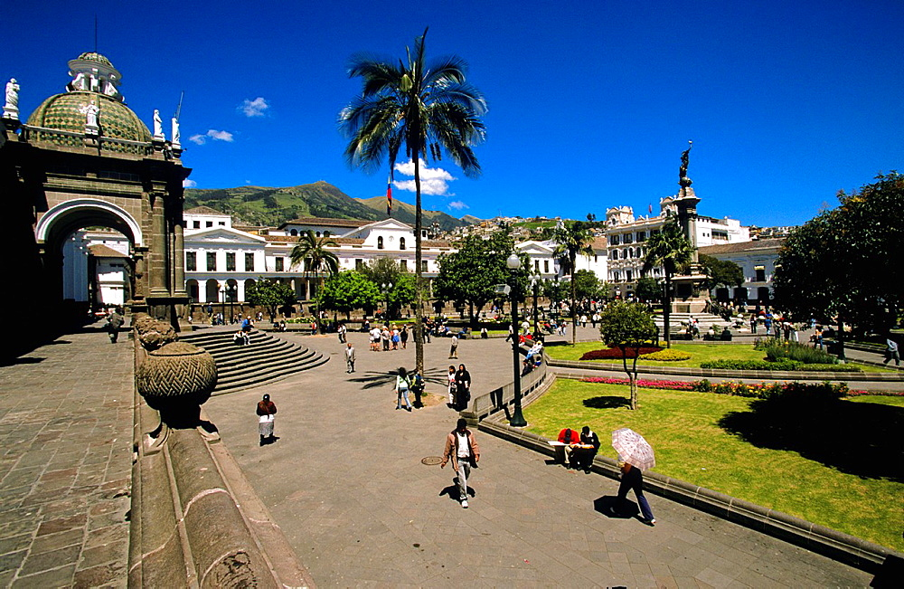 Plaza de la Independencia Quito Ecuador