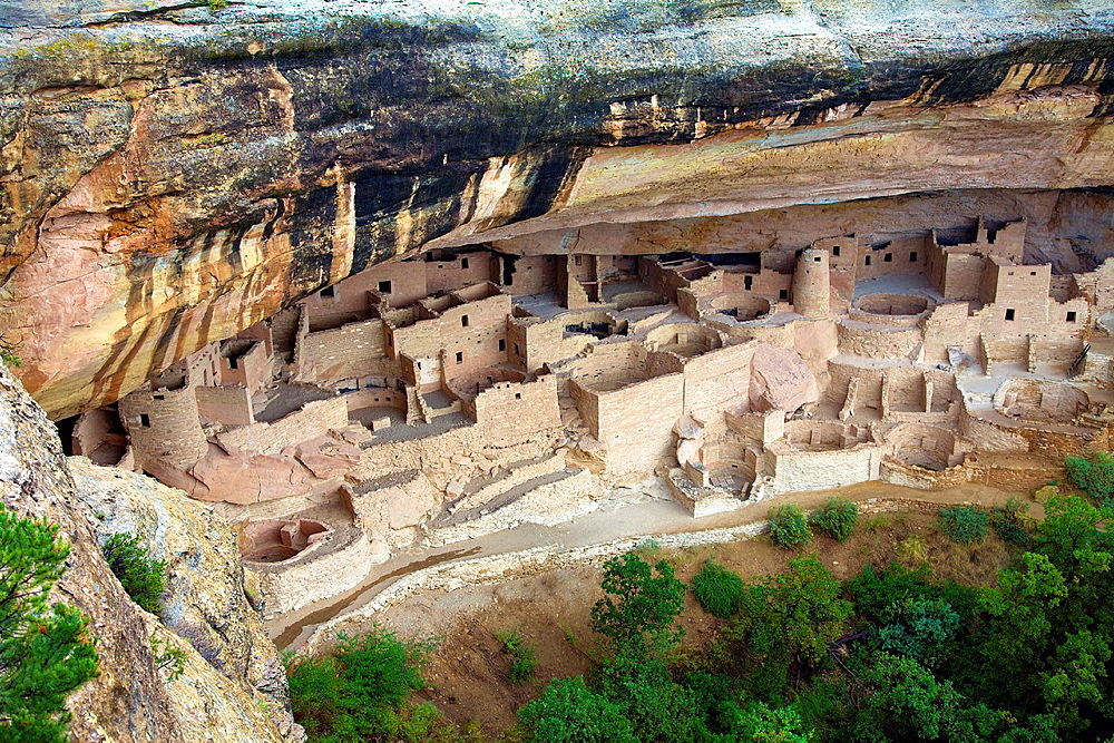 Cliff Palace at Mesa Verde National Park, Colorado, United States