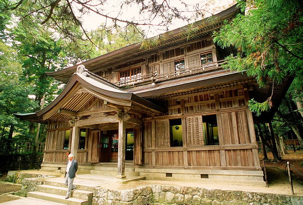 Japan, Western Honshu, Izumo, Izumo Taisha shinto shrine,